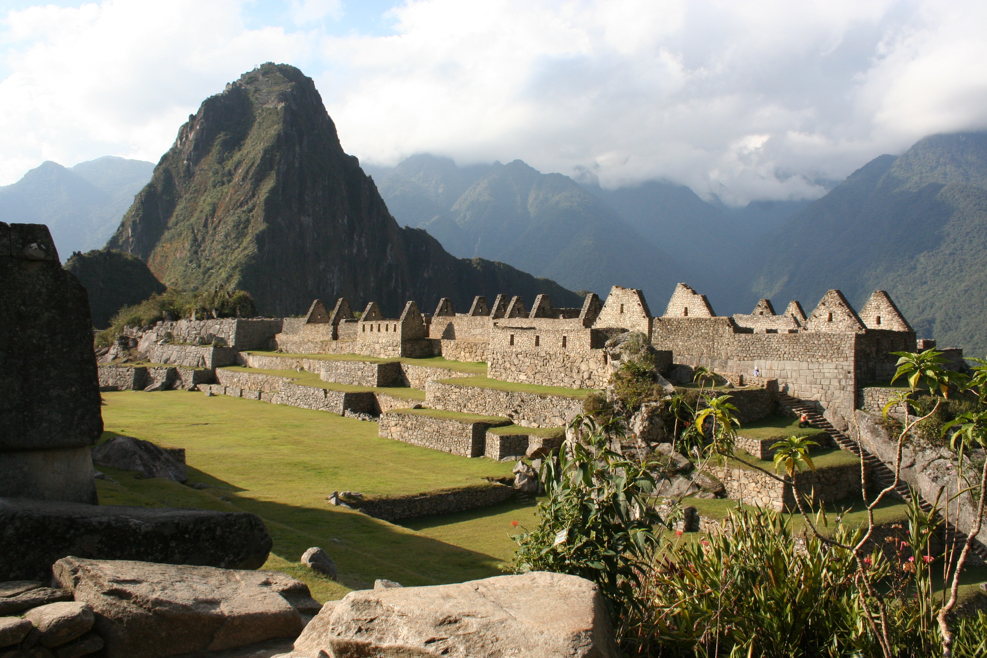 Main Plaza of Machu Picchu