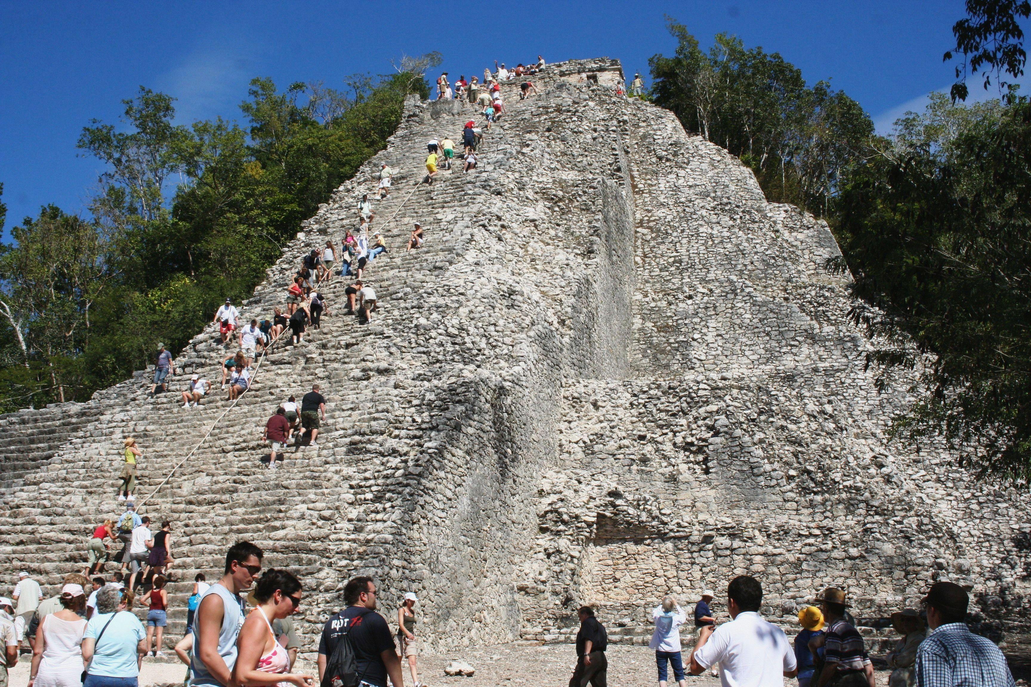 Pyramid of Coba