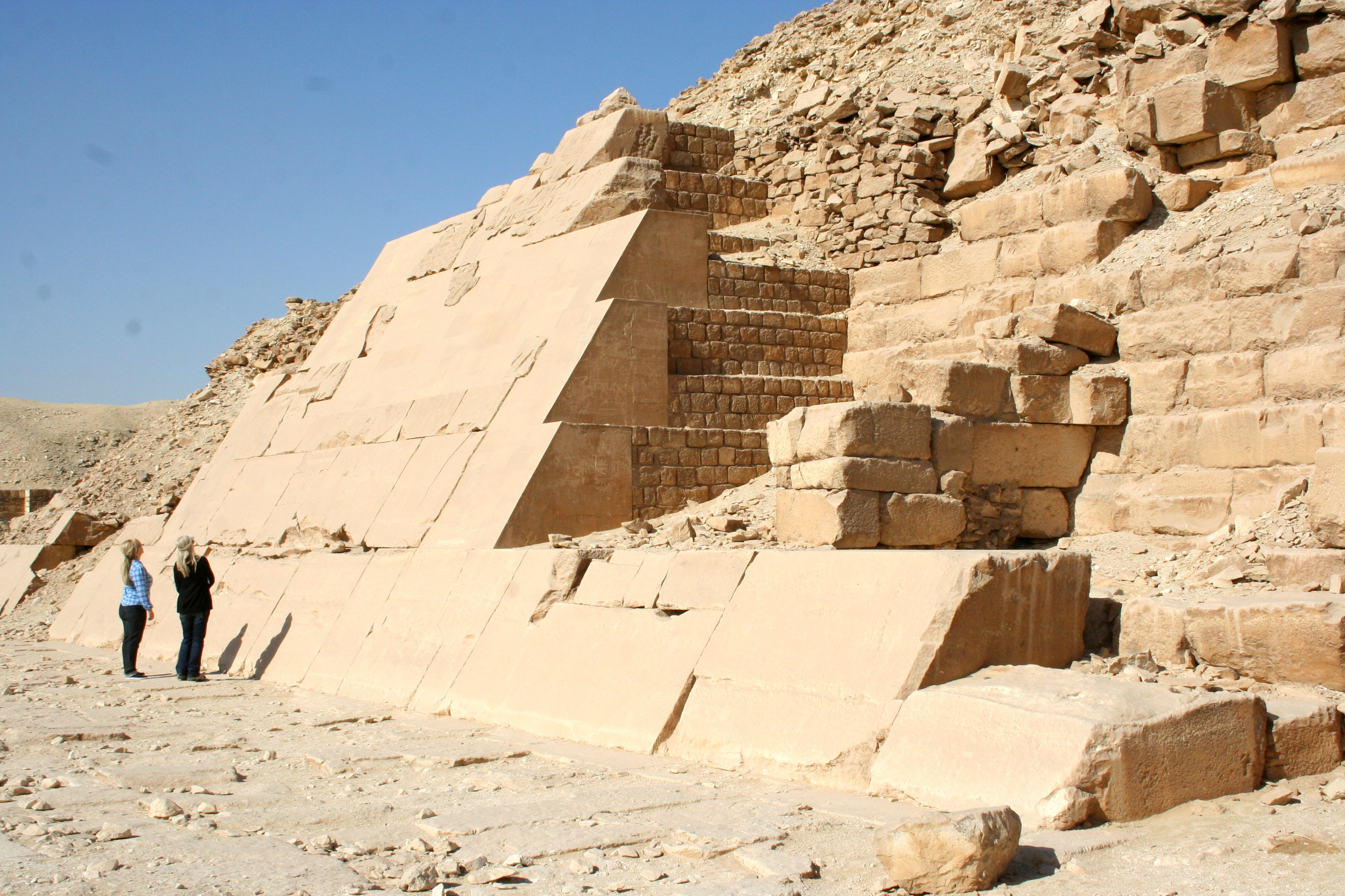 Pyramid of Pharoah Unas