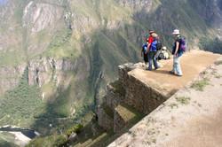 Stairway at Machu Picchu