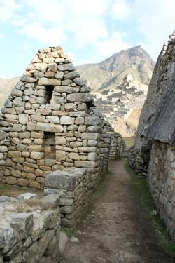 Buildings at Machu Picchu