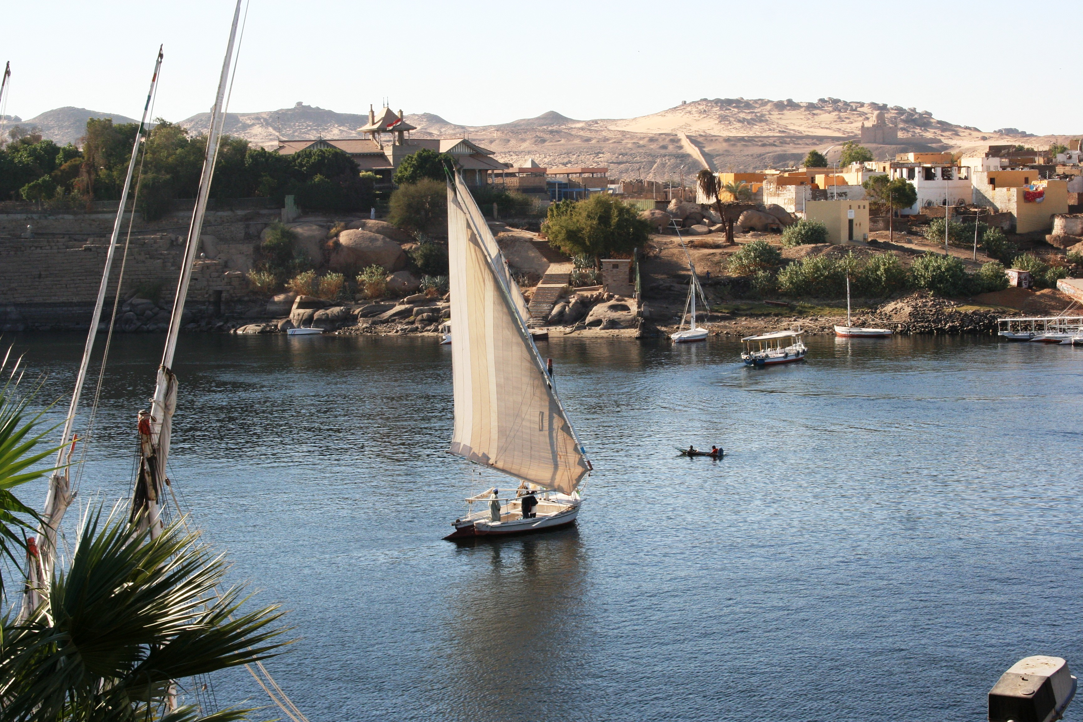 Boat on Nile