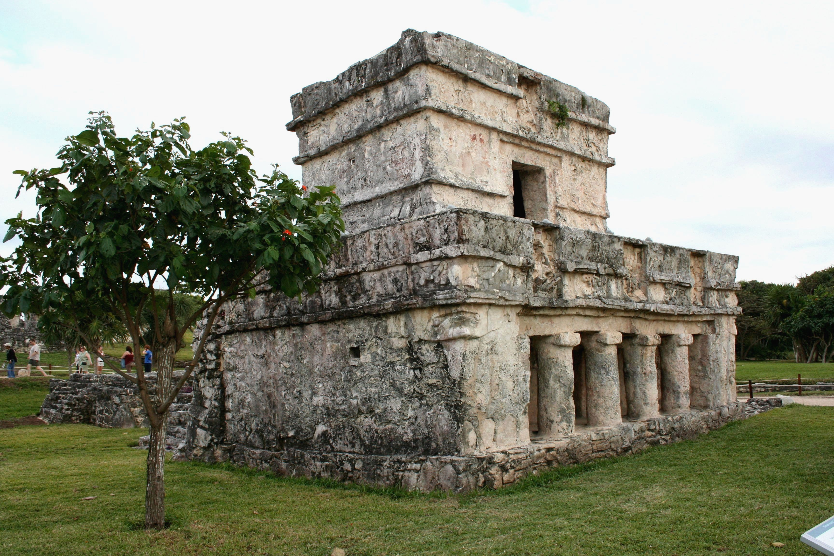 Building at Tulum