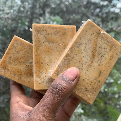 Raw Honey-Ginger & Carrot Facial Bars