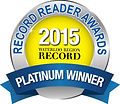 Record Reader Awards 2015 Platinum