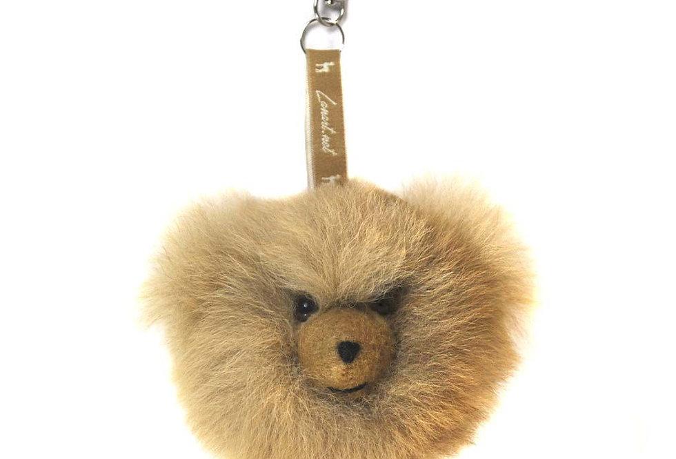 Plush Bear Bag Charm
