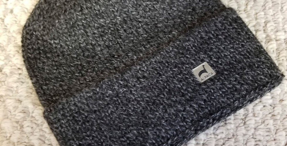 Fisherman's Alpaca Hat - Salt and Pepper