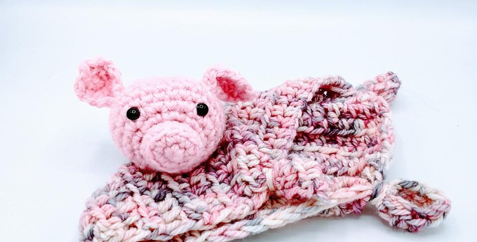 Piggie Lovey Blanket