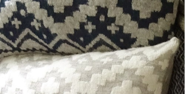 Tribal Pillow - Navy