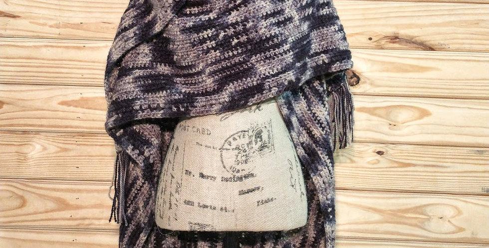Handamade alpaca Poncho/Ruana