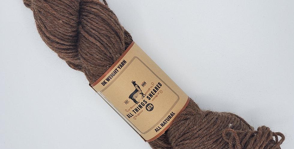 DK Knitter's Yarn - Brwn