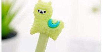 Alpaca Gel Ink Pen - Green