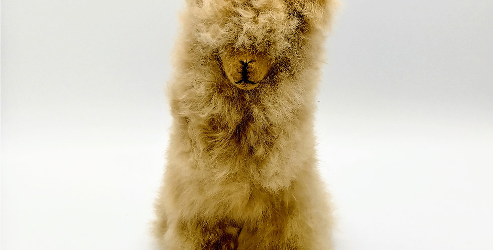 Plush Cria Alpaca 8″ - Fawn