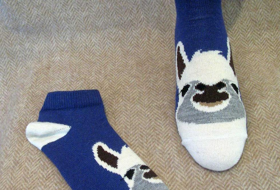 Alpaca Face Socks