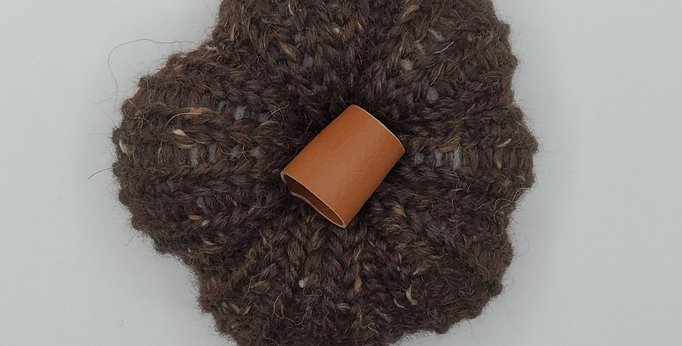 Handmade Pumpkin - small brown