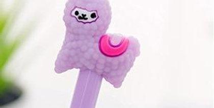 Alpaca Gel Ink Pen - Purple