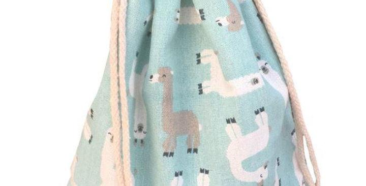 Alpaca Cotton Pouch Bag