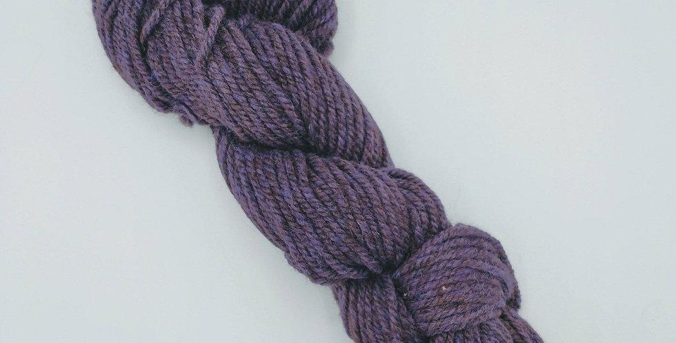 Barely Bulky Yarn - Eggplant