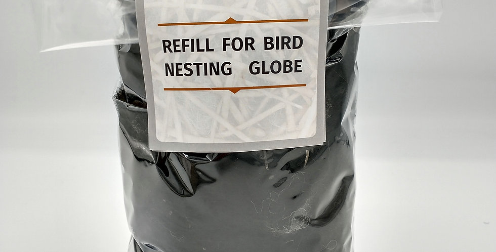 Refill for Alpaca Fiber Filled Bird Nesting Spheres and Star - Large