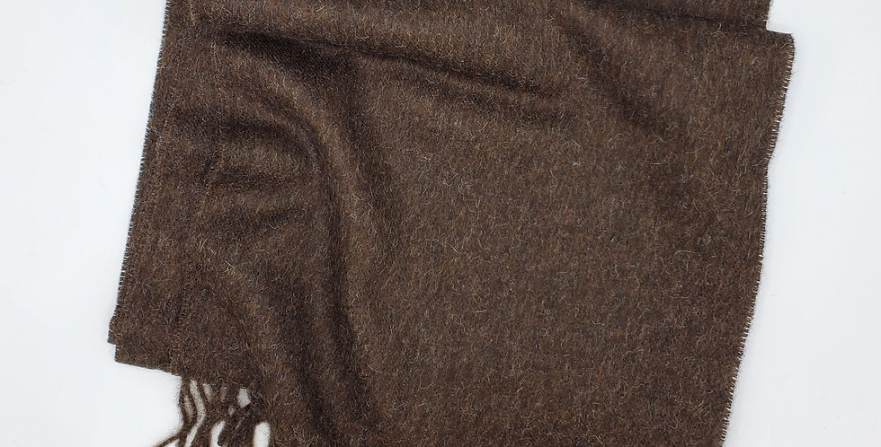 Brushed Solid Scarf - Tobacco