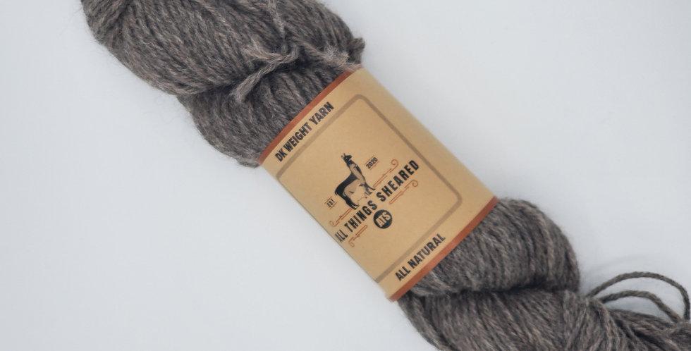 DK Knitter's Yarn - Dark Grey