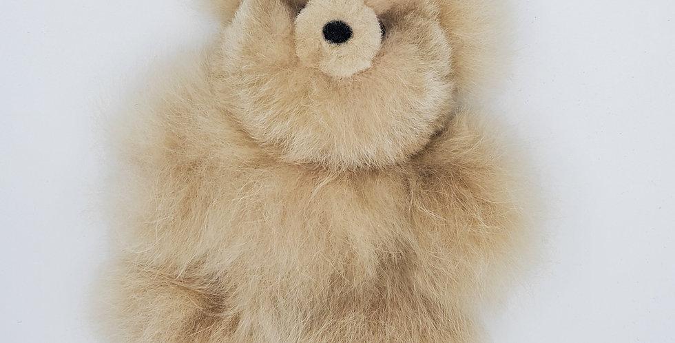 Tiny Teddy: 100% Alpaca Fur