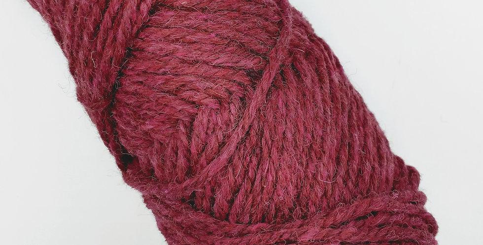 Wonderfully Worsted Yarn - Garnet