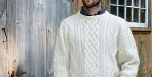 Crewneck Pullover - Natural