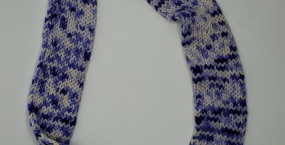 Handmade Infinity Scarf - kids - Purple Delight