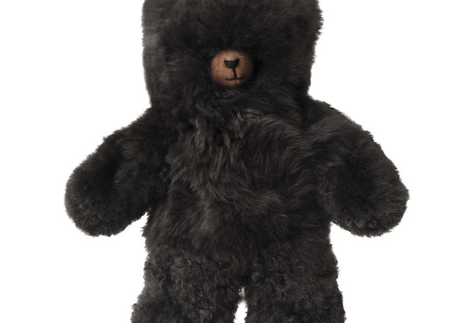 Classic Alpaca Heirloom Teddy Bear 14″ - Black