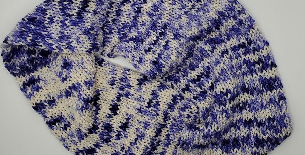 Handmade Infinity Scarf - adult - Purple Delight