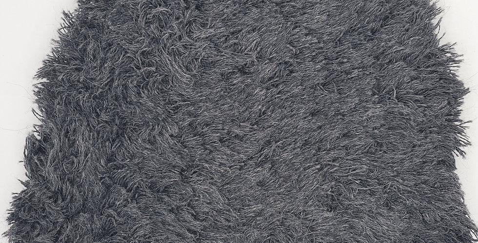 Shag Alpaca Hat - Charcoal