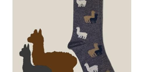 Alpaca Herd Sock