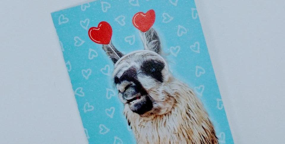 Llama Tell You Love greeting card