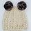 Thumbnail: Handmade children's crocheted panda hat