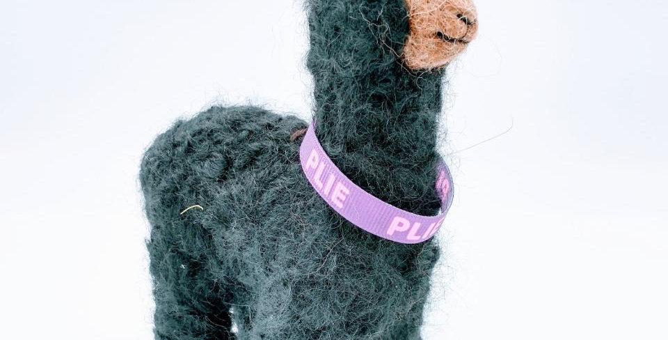6.5″ Alpaca Fiber Sculpture - with Plie collar