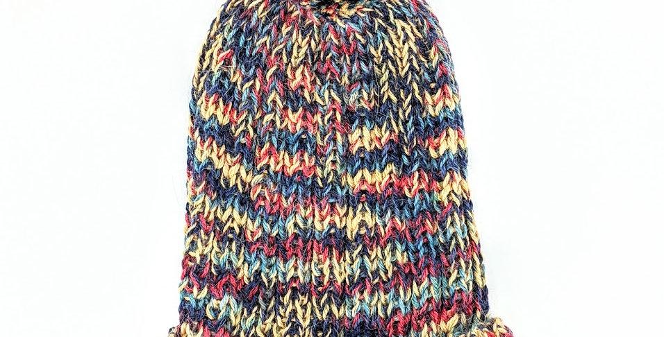 Chunky Palette Alpaca Hat - primary