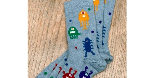 Kids Monster Socks