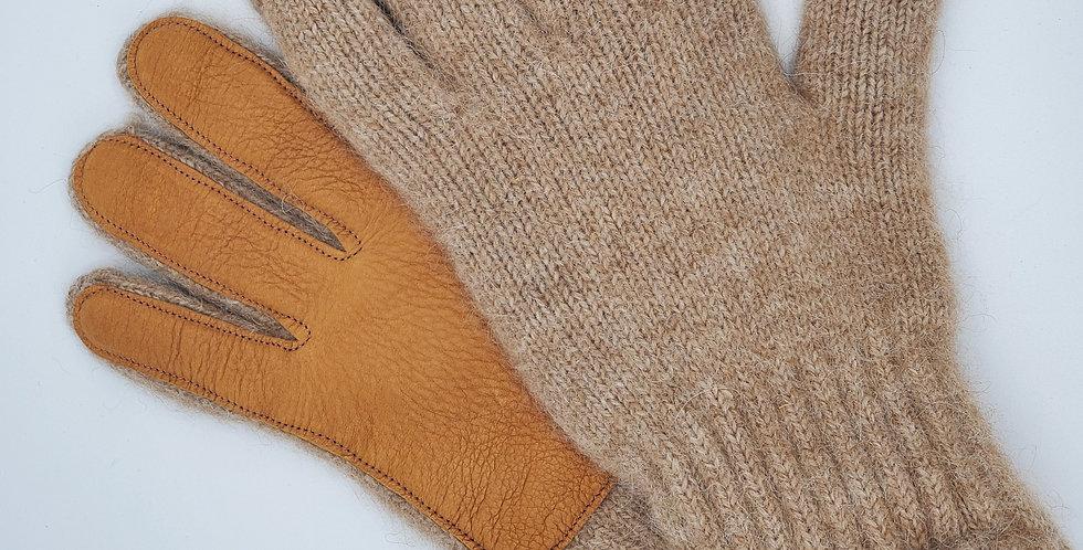 Alpaca Driving Glove w/ Leather Palm