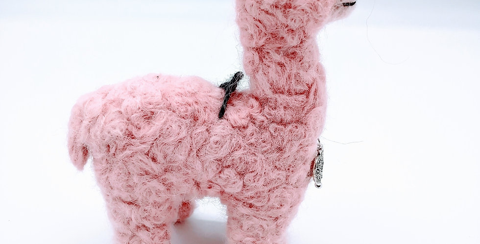 Mama 6.5″ Alpaca Fiber Sculpture