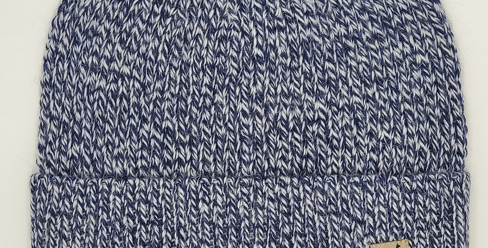 Fisherman's Alpaca Hat - Blueberry Creme