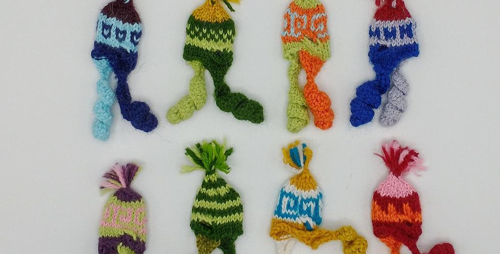 """Mini Knit Chullos - Fits Crias 5.5"""""""