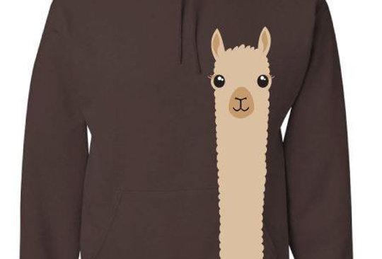 Hoodie: Alpaca Watching
