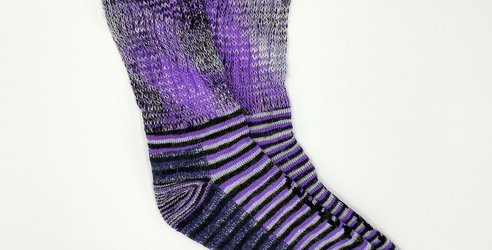 Ultimate Therapeutic Socks - Purple