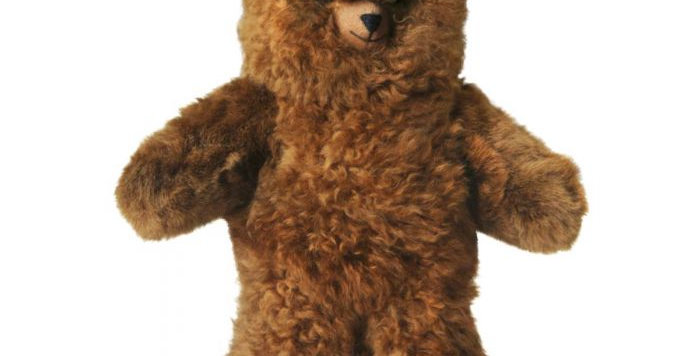 "Ultimate Alpaca Teddy Bear 21"" - Carmel"