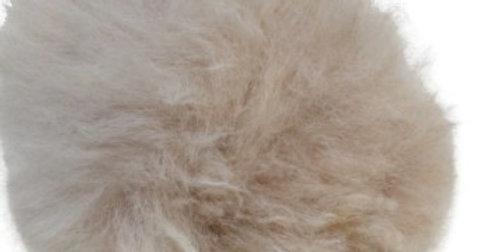 Alpaca Fuzzy Pom-Pom - Fawn