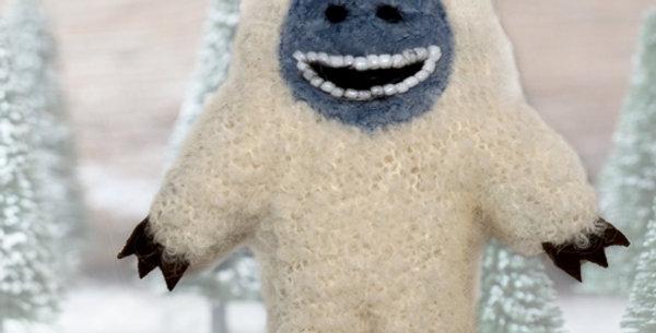 Fuzzy Yetti Ornament