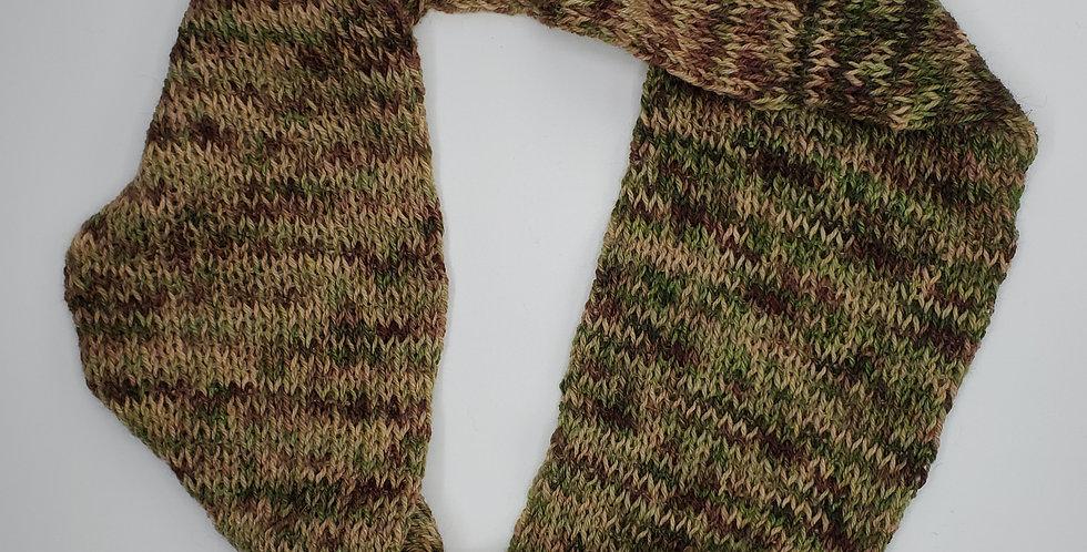Handmade Infinity Scarf - adult -Camo