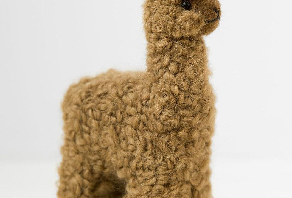 100% Baby Alpaca Figurine