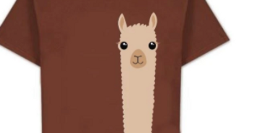 T-Shirt Alpaca Watching - Children's